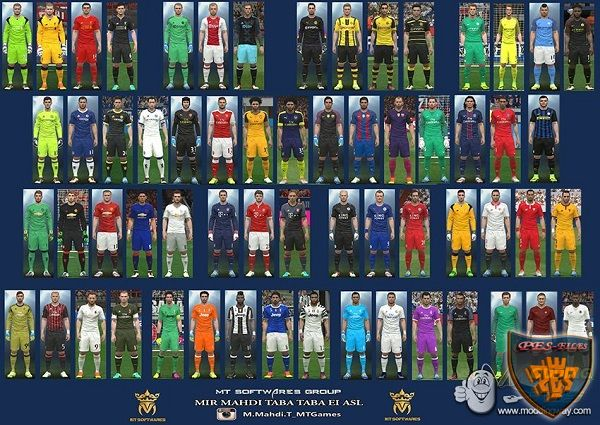 PES 2016 New Kit 2016/17 v.1.9 DLC 3&4 by MT Games 1991