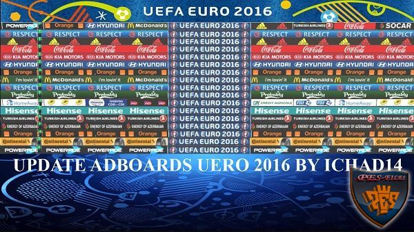 PES 2016 Update Adboads Euro 2016 by ichad14
