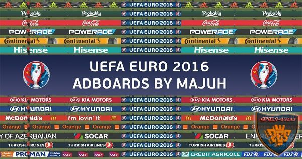 Adboard Pack v1.5 UEFA Euro 2016 Final version