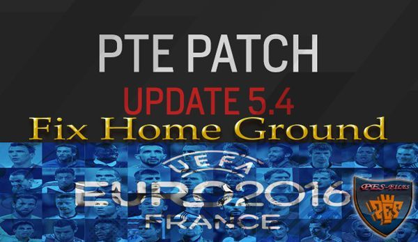 PES 2016 Fix Home Ground PTE 5.4