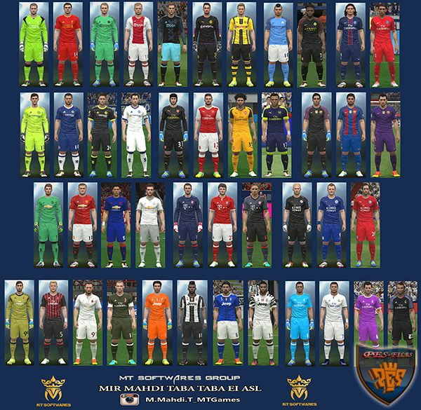 PES 2016 New Kit 2016-17 v1.7 by MT Games 1991