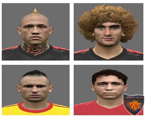 PES 2016 Faces Euro v.3 by Rednik