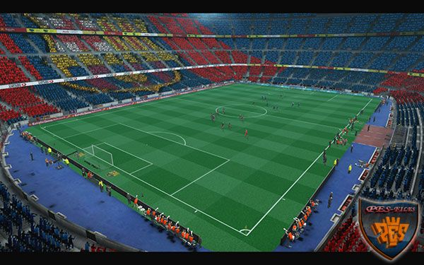 Camp Nou Versión 2016 In GDB For PES 2013
