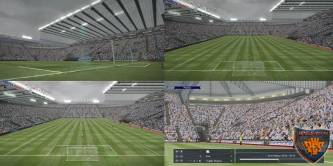 PES 2016 St. James Park Stadium