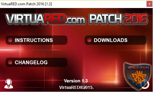Selector PES 2016 VirtuaRED Patch 2016 v.1.3