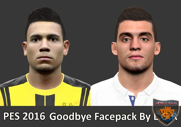 PES 2016 Goodbye Facepack By L.G.R