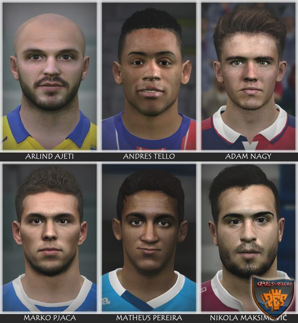 FacPack for Pes 2016 by Bono