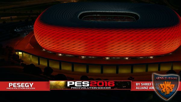 PES 2016 Pack Stadiums With Exterior View Intro