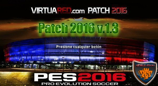 PES 2016 VirtuaRED Patch 2016 v.1.3