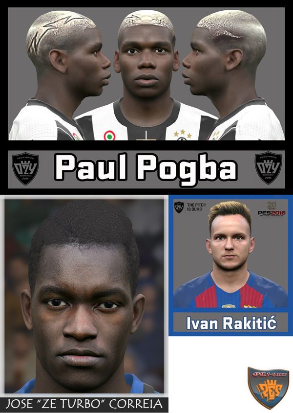 PES 2016 Mini FacePacks by Ozy_96 PESMOD, Bono