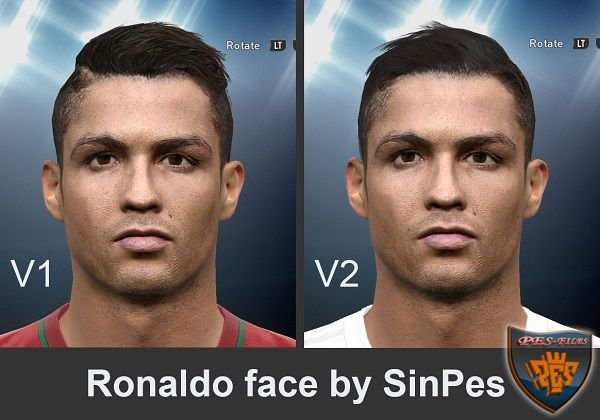 PES 2017 Ronaldo Face by SinPes