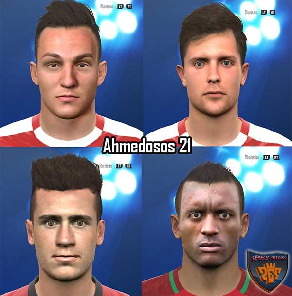 PES 2016 New Face Pack by Ahmedosos21