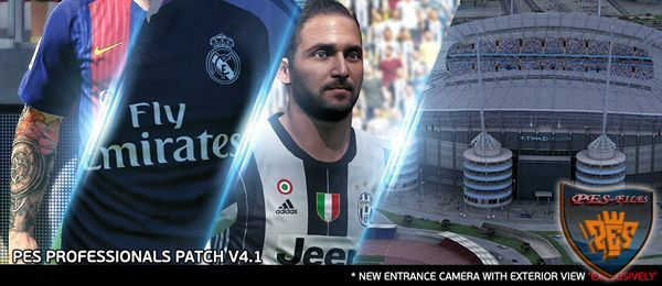 PES 2016 PES Professionals Patch V4.1 29.07.2016