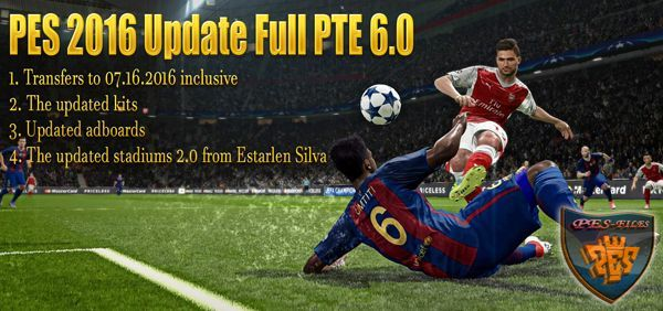 PES 2016 Update Full PTE 6.0 by Hai Trangquoc