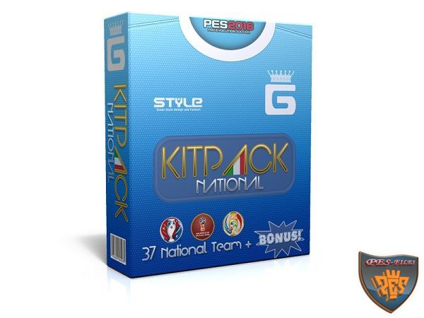 PES 2016 New KitPack National AIO Update v3.8 by G-Style