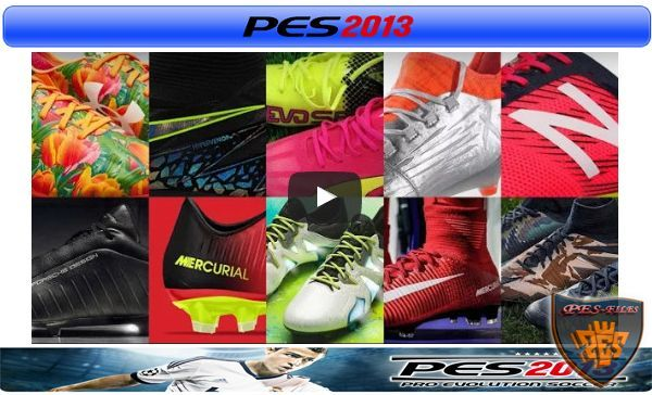 PES 2013 Exclusive Bootpack New Season 2016/17