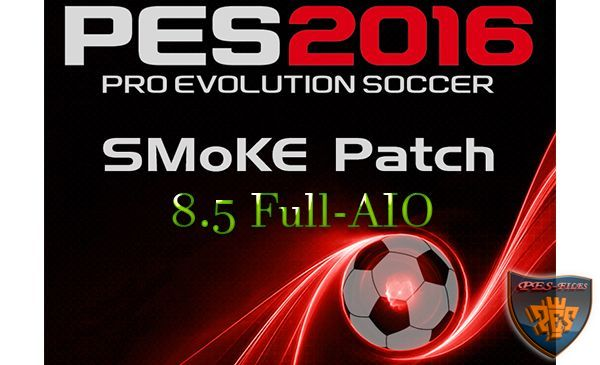 PES 2016 SMoKE Patch 8.5 (Full-AIO)