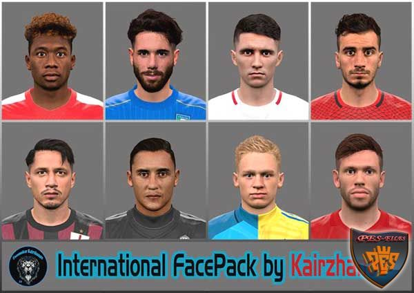 Pes 2016 International Face Pack by Kairzhanov