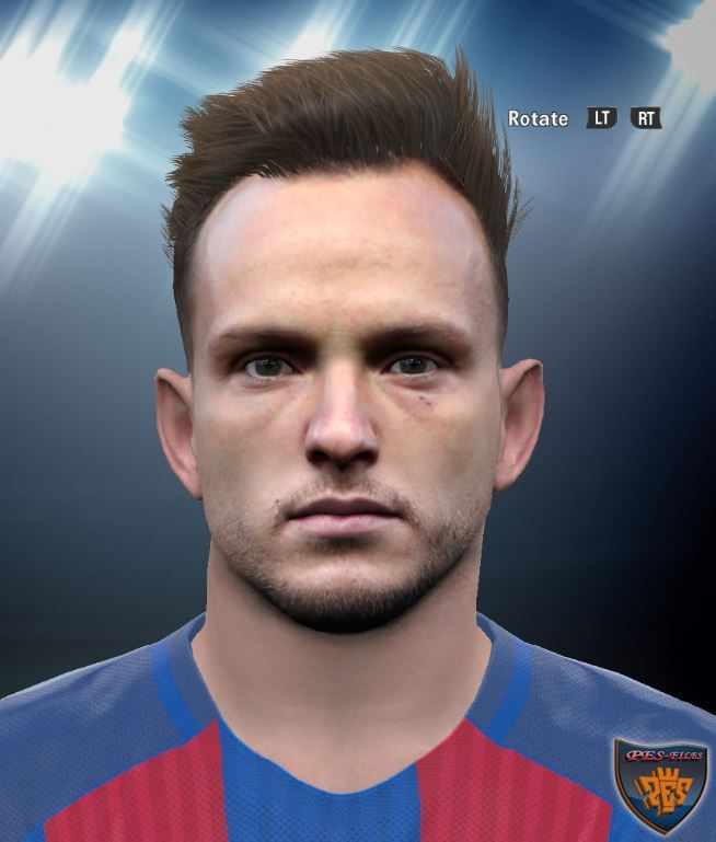 PES 2016 Ivan Rakitic Face By DzGeNiO