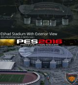 Etihad Stadium PES 2016 PES Professionals Patch V4.1 29.07.2016