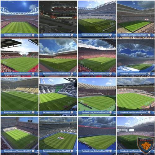 PES 2016 Pack Stadiums 2.0