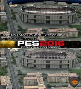 Camp Nou PES 2016 PES Professionals Patch V4.1 29.07.2016