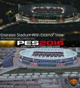 Стадионы патча PES 2016 PES Professionals Patch V4.1 29.07.2016