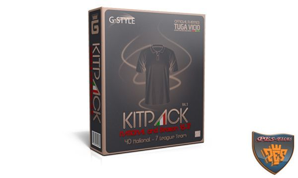PES 2016 New KitPack National AIO Update v4.1