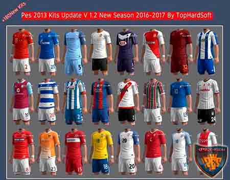 Pes 2013 Kits Update V 1.2 New Season 2016/17