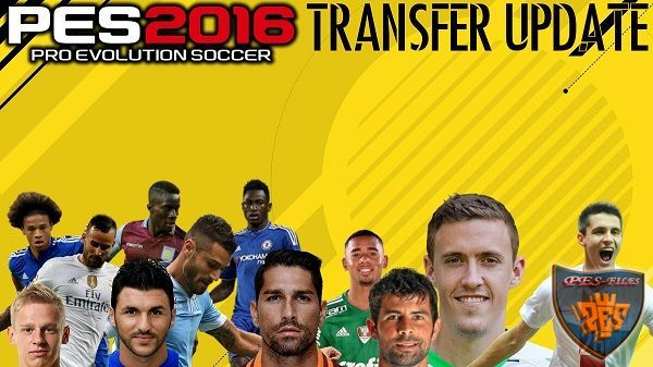 PES 2016 Update Transfers 04.08.2016 For PTE Patch 6.0