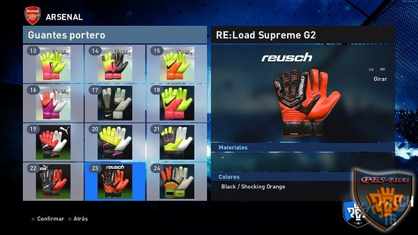 PES 2016 Gloves Pack 50 v2 by Various