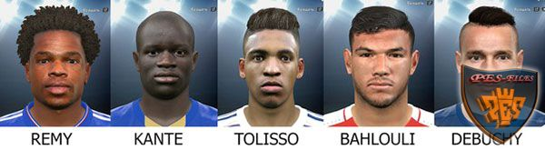 Pes 2016 French facepack by bahty