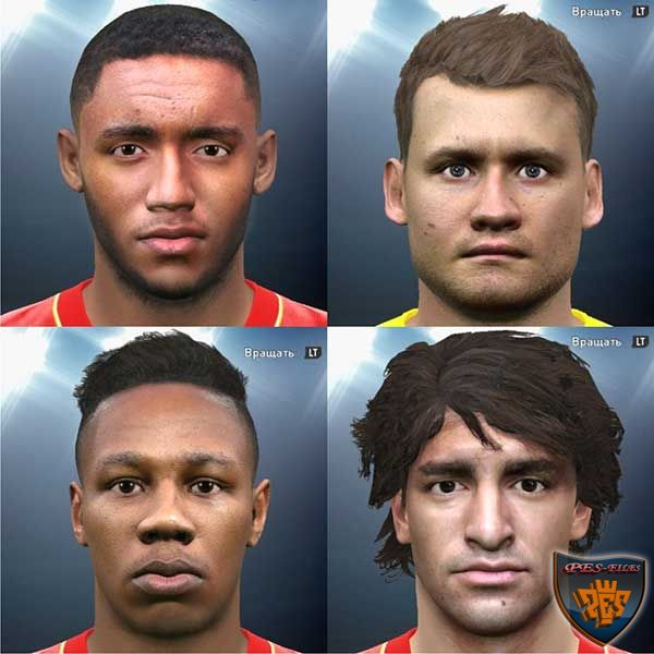 PES 2016 Liverpool Facepack by bahty