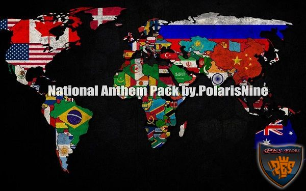 PES 2016 National Anthem Pack V3 by PolarisNine