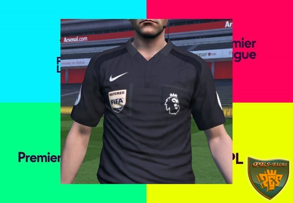PES 2016 Premier League 2016-17 Referee Kits
