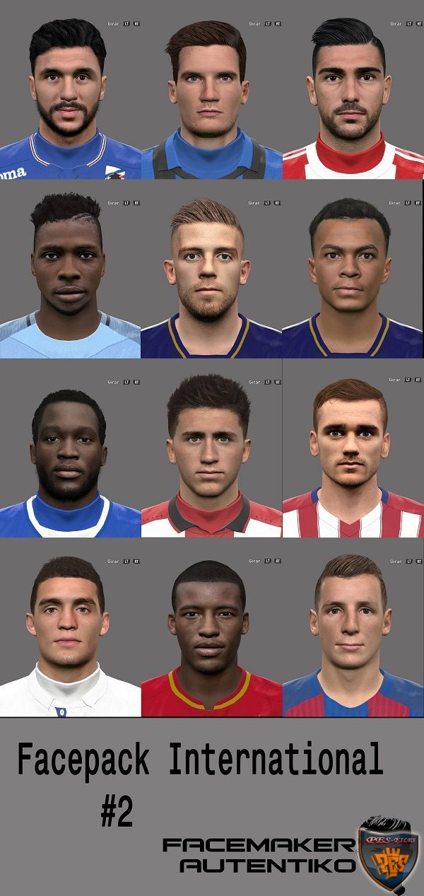 PES 2016 Facepack International #2 By Autentiko