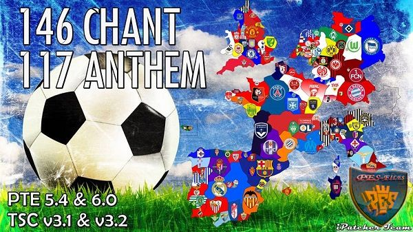 PES 2016 Chant v2 + Anthem AIO by iPatch Team