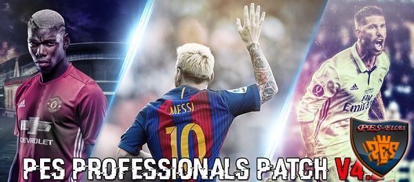 PES 2016 PSD Stats V1.0 For Professionals Patch 4.2