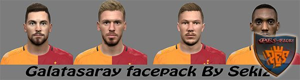 Pes 2016 Galatasaray Face Pack by sekiz