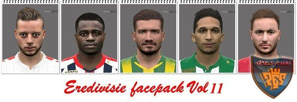 PES 2016 Eredivisie Facepack Vol 11 by Professional