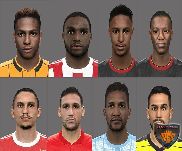 PES 2016 International Faces Pack v.1 by Rednik