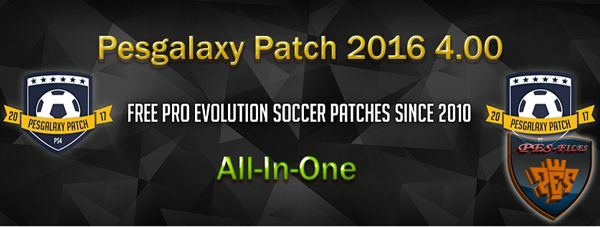 Pesgalaxy Patch 2016 4.00 (All-In-One)