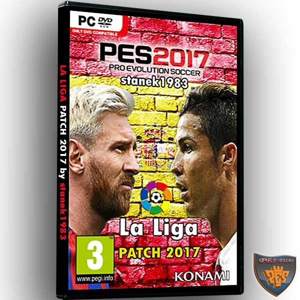 LaLiga Patch 0.2 PES 2017 by stanek1983