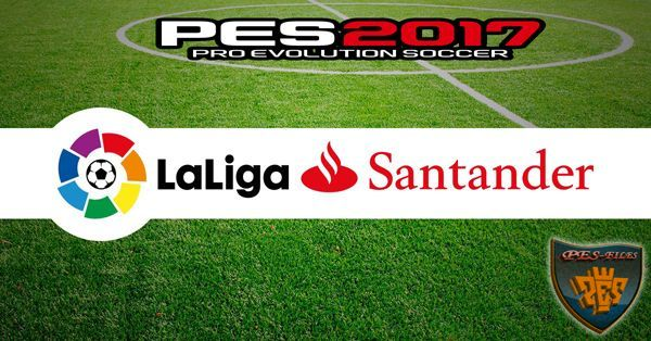PES 2017 La Liga Santander for PS4 by Enzo77