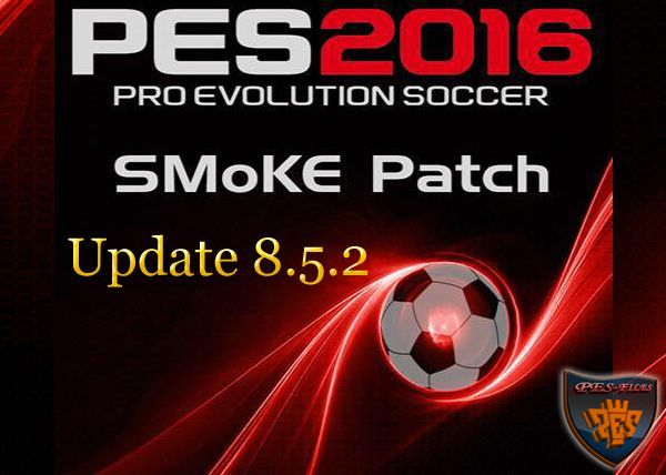 PES 2016 SMoKE Patch Update 8.5.2