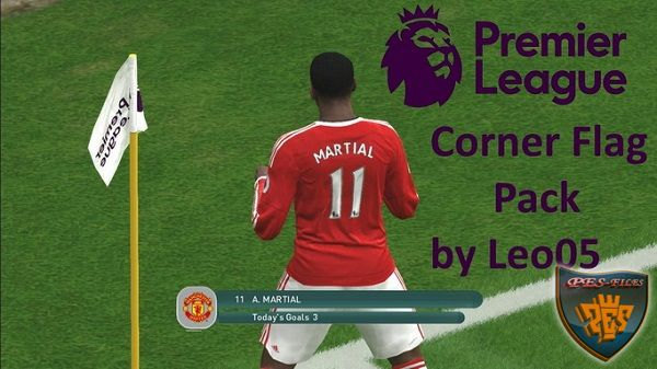 PES 2016 Premier League Corner Flag Pack by Leo05