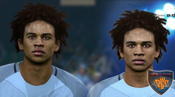 PES 2016 Leroy Sane face update by Sameh Momen