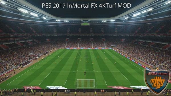 PES 2017 InMortal FX Mod 4KTurf Crowd v0.2