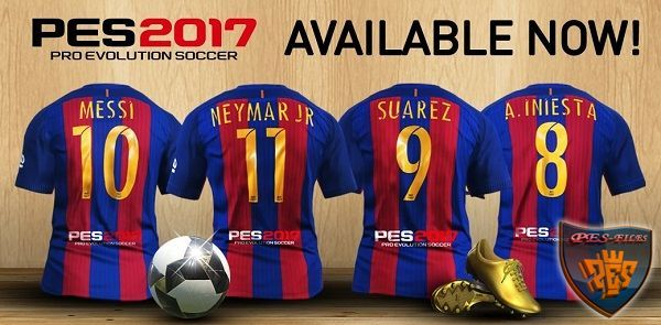 PES 2017 PS4 DFL Option File 2017 v2.5 by Cristiano92