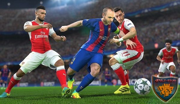 PES 2016 Gameplay Patch imported from PES 2017 Demo